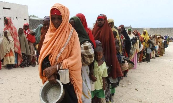 Resultado de imagen de La hambruna en los paises de Africa