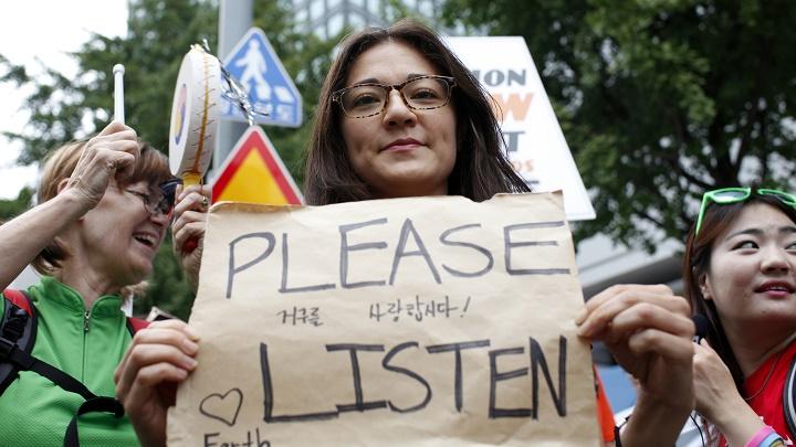 protestas contra el camibo climático