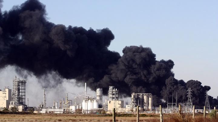 quema de carbon