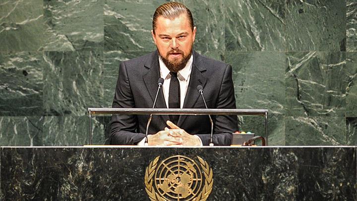 Leonardio Di Caprio ONU