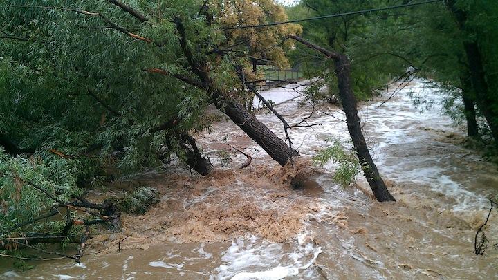 Lluvias torrenciales inundaciones