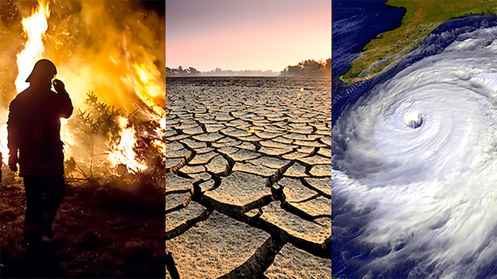Eventos extremos cambio climatico